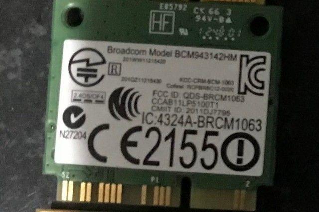 Wi-Fi DW1704 para DELL sem fio 300Mbps Bluetooth 4.0 MiniPCI - Foto 2