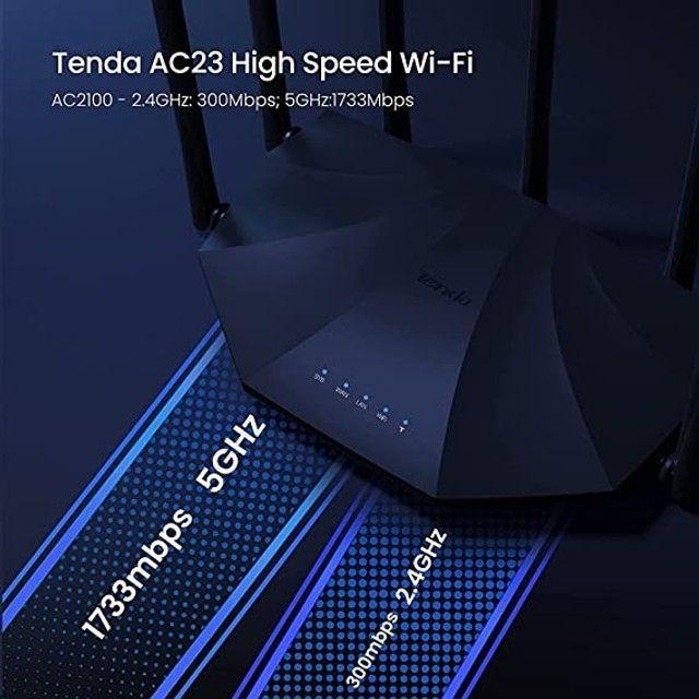 Roteador Tenda AC23 7 antenas 5G - Foto 2