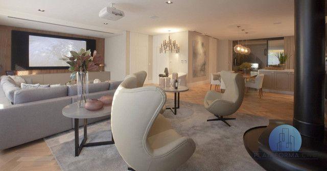 Apartamento Garden com 4 dormitórios à venda por R$ 5.052.200,00 - Cabral - Curitiba/PR - Foto 16