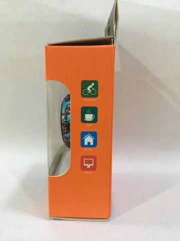 Caixa de som Bluetooth , Mini speaker de metal Amplificada 4w - Foto 5