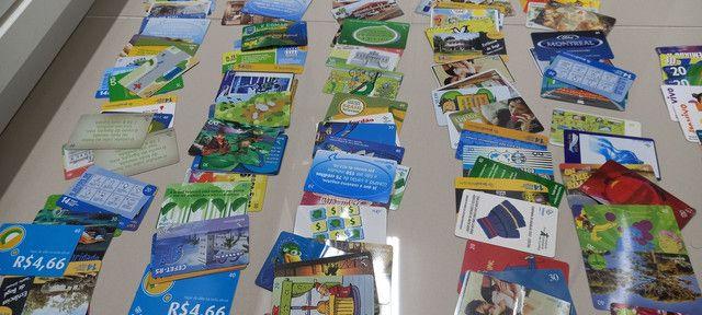 222 Cartões Telefônicos e de Recargas Para Coleções  - Foto 5