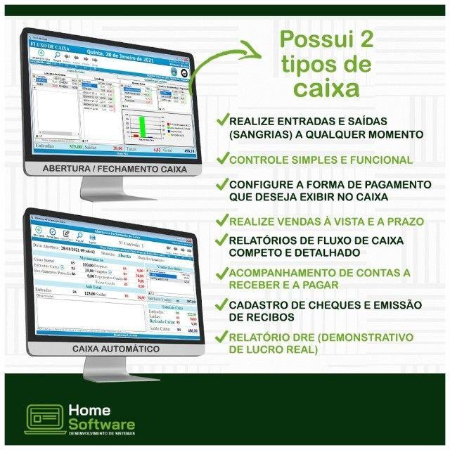 Sistema PDV,Controle Financeiro,Relatório de Caixa,Sem Mensalidade- Marataizes - Foto 2