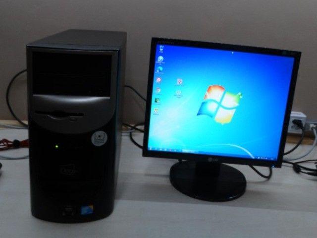 PC com monitor 4 nucleos 5 Gb Ram HD 1 TB Usb 3.0 e outras opções de compra - Foto 2