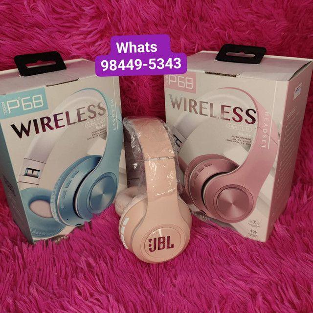 Fone JBL wireless bluetooth Mod:P68