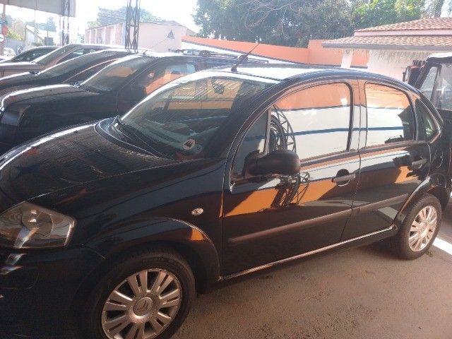 Citroem C3 1.4 GLX  2011/11   8V  lindo,couro - Foto 9