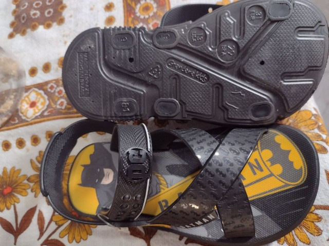 Sandália do Batman Nova! - Foto 3