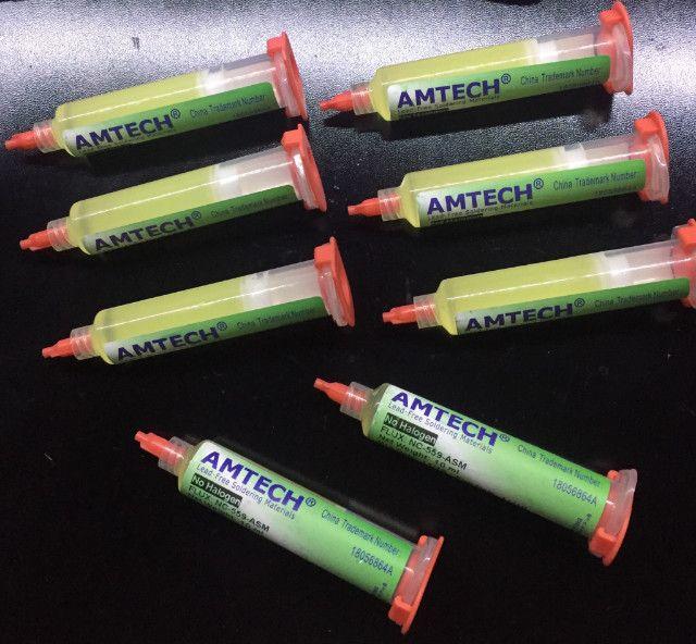 Fluxo De Solda Amtech Nc-559-asm 10cc - Foto 2