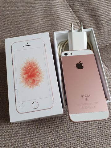 iphone SE 128gb rosa - Foto 2