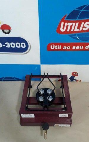 Fogareiro a  Gás Alta Pressão  1 boca de mesa  - Foto 5