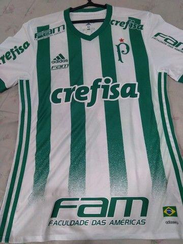 Camisa Palmeiras 2017 de jogo.