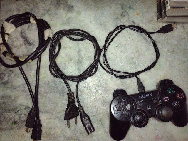 Playstation 3 Slim 160GB Black *Leia A Descrição* - Foto 6