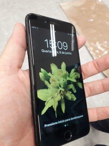 Iphone 7 plus 128GB. Troco em superior mais volta