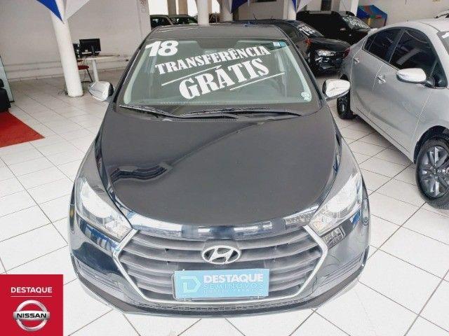 Hyundai HB20 Confort Plus 1.0 2018 Preto