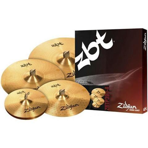 Kit De Pratos Zildjian Zbt Five 14 16 18 20 Bronze B8