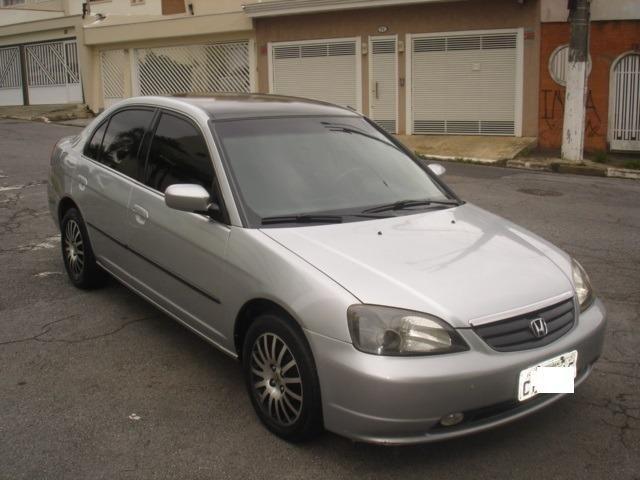 Captivating Honda Civic LX 1.7 Automático 2001 Ótimo Estado
