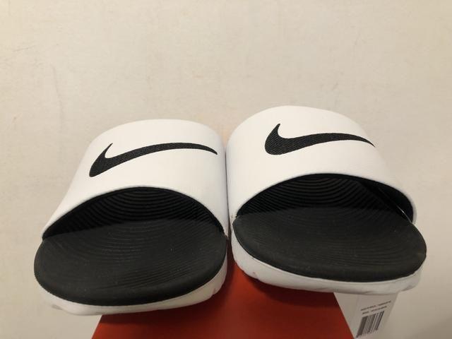 6580f61502c Chinelo Nike kawa slide original tamanho 42 branco - Roupas e ...