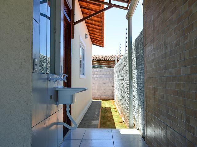 Casa TOP no Cidade das Rosas 1, lote de 300m2 e casa com 105m2, na entrada do loteamento - Foto 4