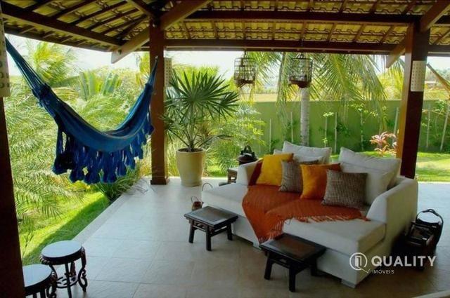 Casa na Lagoa do Uruaú com 6 suítes à venda, por R$ 5.800.000 Porteira fechada- Beberibe - Foto 13