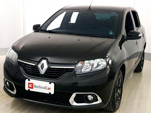 Renault SANDERO VIBE Flex 1.0 12V 5p - Preto - 2017