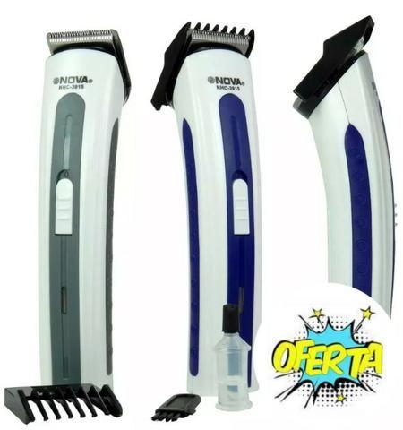 (NOVO) Máquina Fazer Barba e Pezinho Recarregável - Foto 5