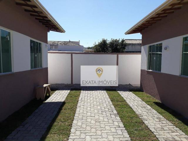 Casa linear, condomínio, jardim/chácara marilea, rio das ostras. - Foto 18