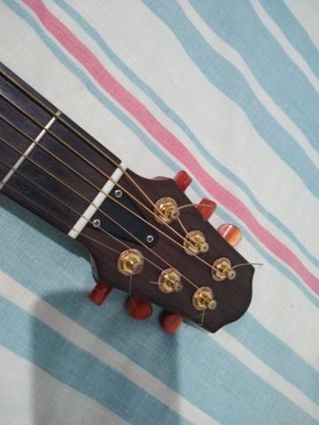 Violão Silent Yamaha aço zerado! SÓ VENDA - Foto 3