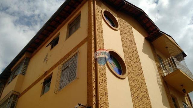 Apartamento com 3 dormitórios para alugar, 68 m² por r$ 1.500,00/mês - coração eucarístico