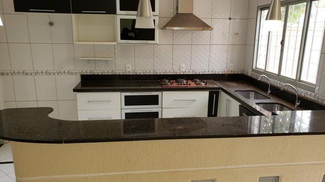 Sobrado 3suites churrasqueira lote 800m2 rua 8 Vicente Pires condomínio fechado - Foto 16