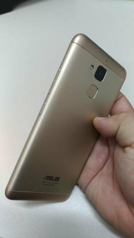Celular Zenfone Max 3 dourado - Foto 3