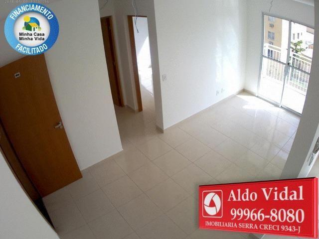 ARV66- Via Sol Apto 2Q C/Varanda em Morada de Laranjeiras.