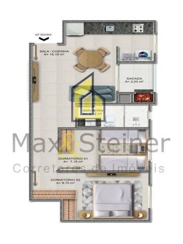 G*Floripa*Apartamento 2 dorms, 1 suíte.Acabamento classe A. * - Foto 10