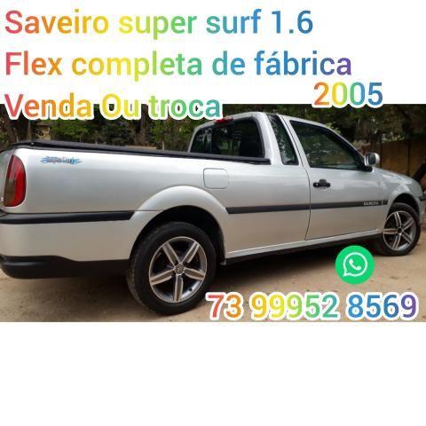 Saveiro super surf 1.6 flex 2005 G3 ac. proposta e troc - Foto 20