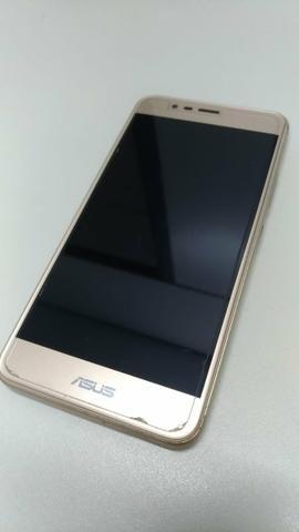 Celular Zenfone Max 3 dourado - Foto 2