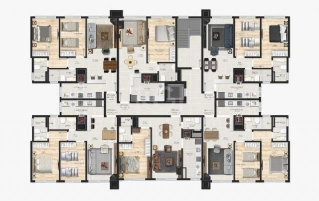 Apartamento à venda com 1 dormitórios em Várzea grande, Gramado cod:EV4104 - Foto 16