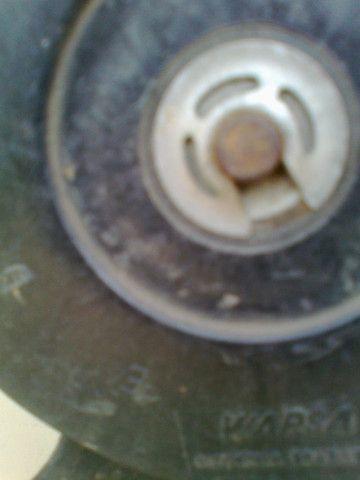 Ventoinha do Radiador Santana 1.8 1999 sem AC - Foto 3