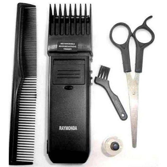 Máquininha Tipo Panasonic Corta Barba Cabelo Pelos Pézinho - Foto 2