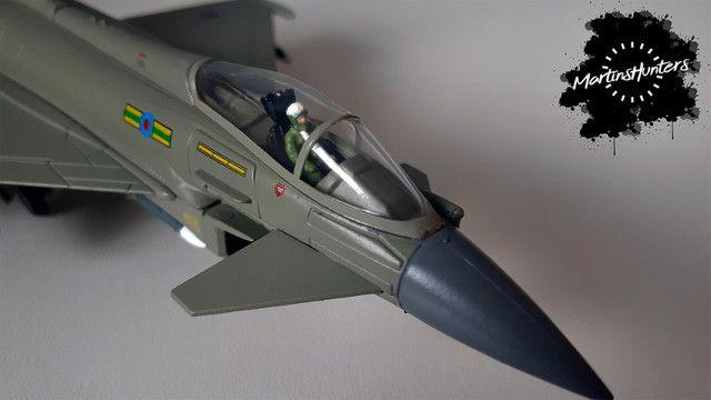Miniatura Eurofighter EF-2000 - Escala 1:100 - Promoção Imperdível - Foto 3