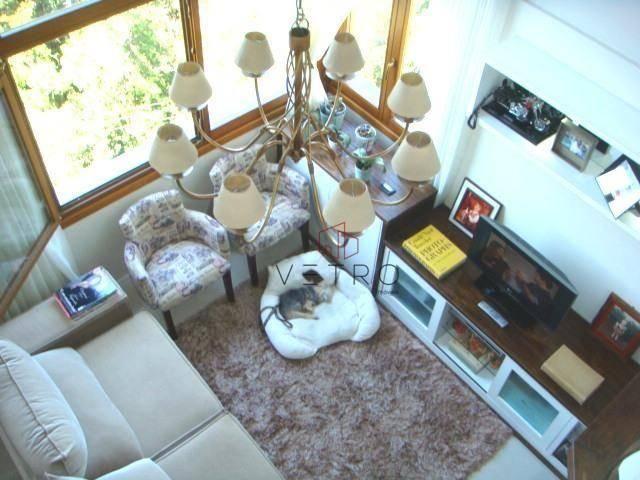 Sua cobertura duplex mobiliado com linda vista! - Foto 3
