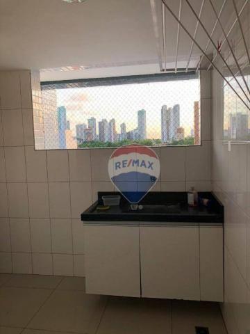 Apartamento com 3 dormitórios para alugar, 122 m² por R$ 2.400,00/mês - Manaíra - João Pes - Foto 16