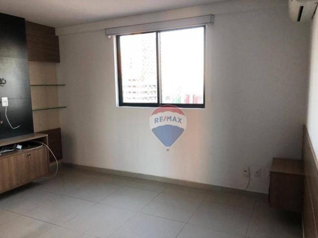 Apartamento com 3 dormitórios para alugar, 122 m² por R$ 2.400,00/mês - Manaíra - João Pes - Foto 6