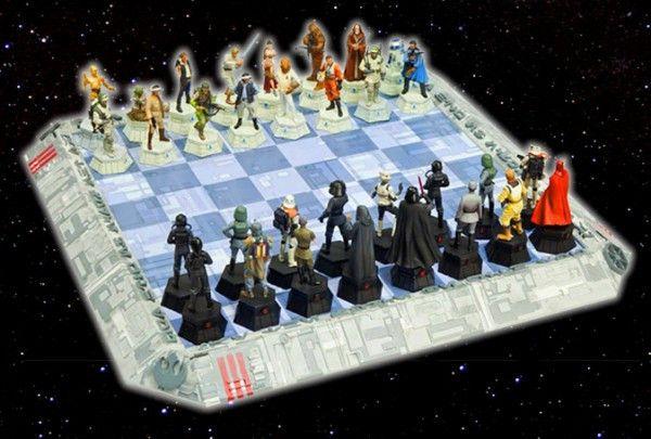 Coleção Star Wars Xadrez C/tabuleiro (64 Peças) Colecionador