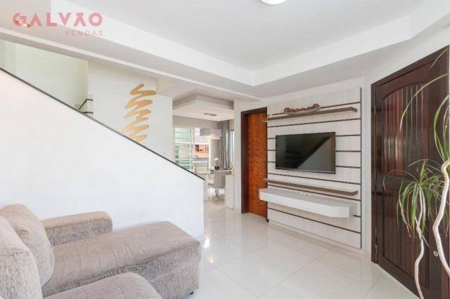 Sobrado com 3 dormitórios à venda, 104 m² por R$ 398.500,00 - Hauer - Curitiba/PR - Foto 3