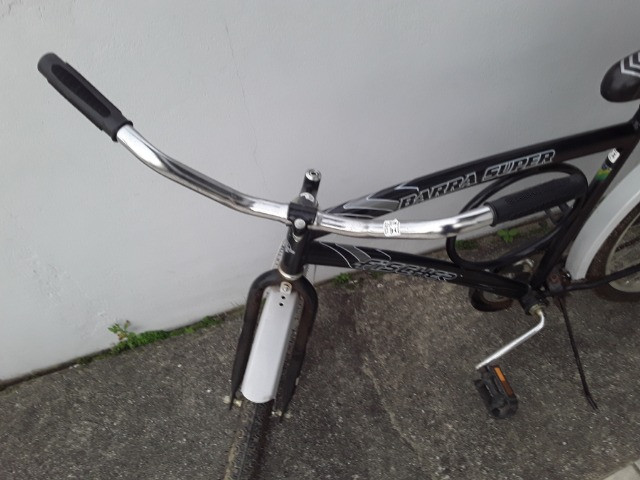 Barbada. Bicicleta Fischer barra super ( freio de pé) - Foto 2