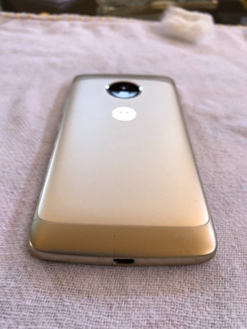 Moto G5 dourado - Foto 5