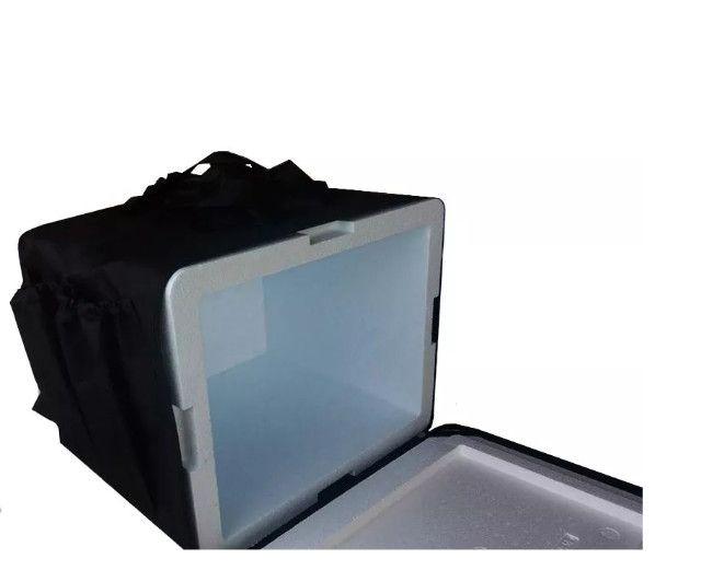 Mochila com caixa térmica para ifood ( 45 lts ) - Foto 2