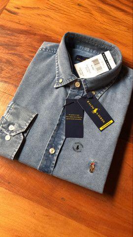 Camisa Jeans RL - Foto 4