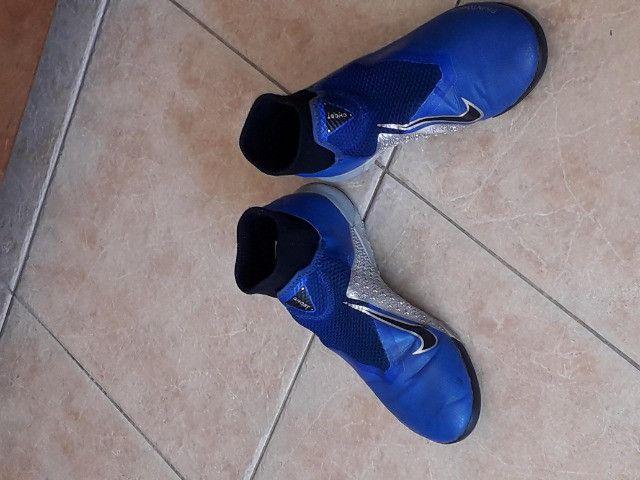 Chuteira Futsal Nike Phanton - Foto 3