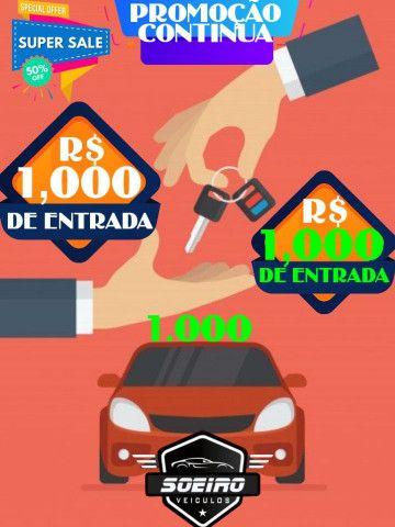 SIENA 2018 ENTRADA R$1.000