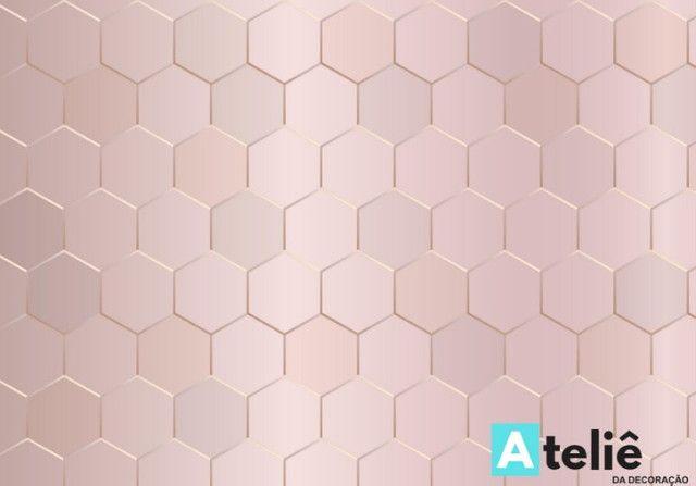 Papel de parede com efeito 3d
