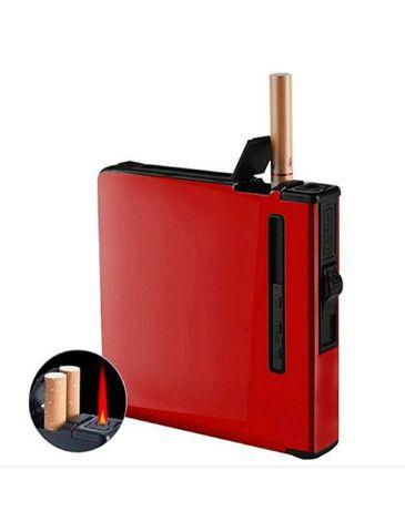 Caixa de Cigarro com isqueiro a Gás